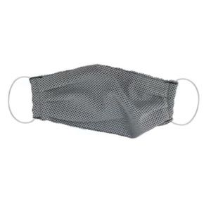 1 Unisex Gray Pleated Cooling Face Mask NIP